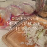 Freezer meals in a day
