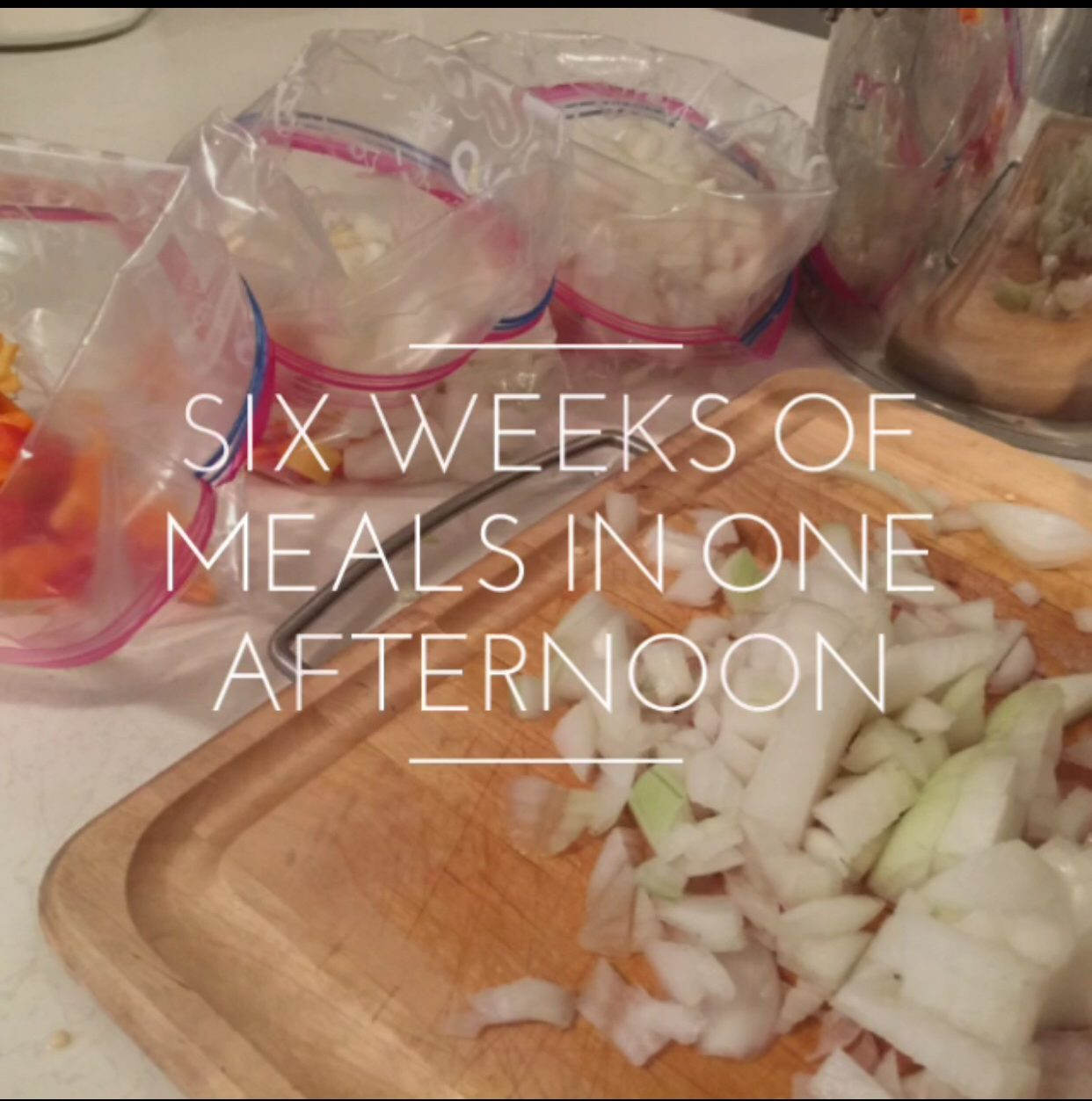 Freezer Meals for a Large Family
